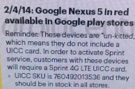 """February 4th launch date for red Nexus 5 """"confirmed"""" by a leaked inventory photo"""