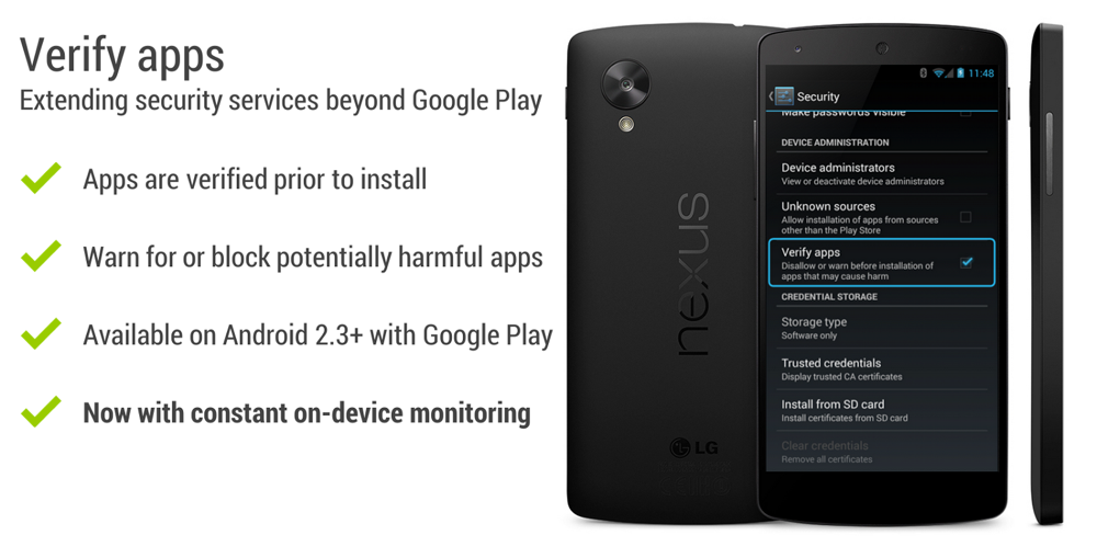 Android will now constantly monitor installed apps for malware and suspicious activity
