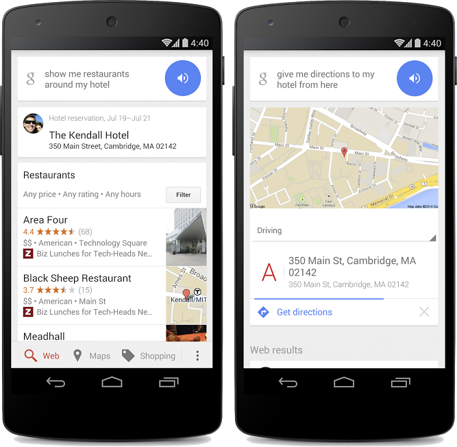 Google can now show what you can do near your hotel for Google hotes