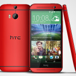 HTC One M8 announced in red and pink, launching in the UK on August 7