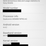 Sony Xperia Z3 Compact specs leak: 4.5-inch 720p display, Snapdragon 801 processor and 20.7MP camera