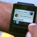 Minuum Keyboard demoed on the LG G Watch