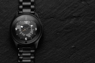 Olio Model One is a round, premium smartwatch that's compatible with Android