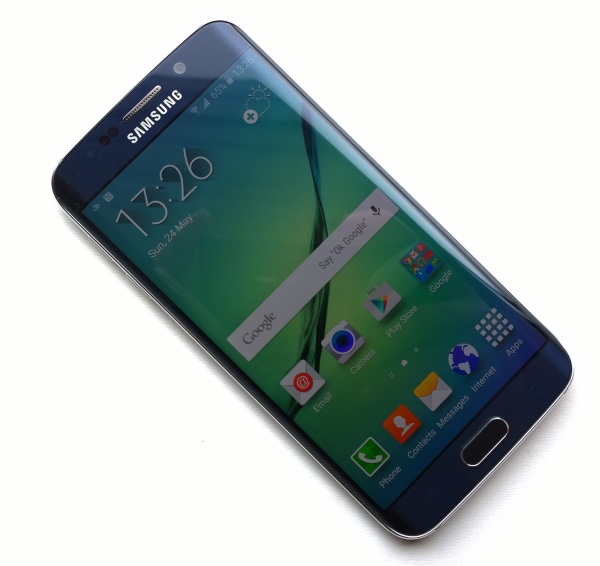 Samsung Galaxy S6 Edge - front view