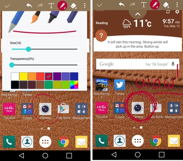 QMemo+, accessed usually from the notifications shade, lets you grab, annotate, save and share screenshots and other content...