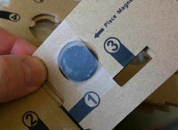 Don't be afraid to use tape - to hold the internal magnet in place, to hold any other parts securely together