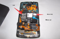 Frustrated user adds microSD card slot to his Nexus 5
