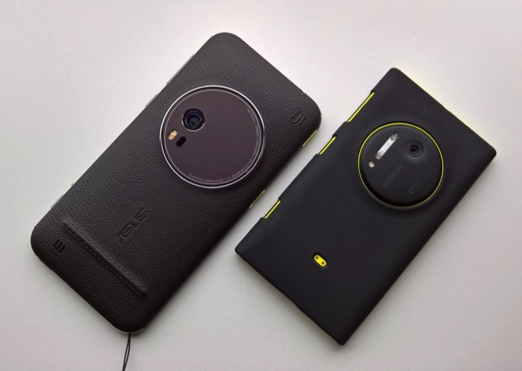 Zenfone Zoom and the old Lumia 1020