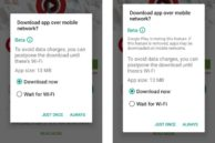 Google Tests 'Wait for Wi-Fi' Queuing Feature for Play Store