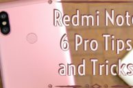 20 Best Redmi Note 6 Pro Tips and Tricks