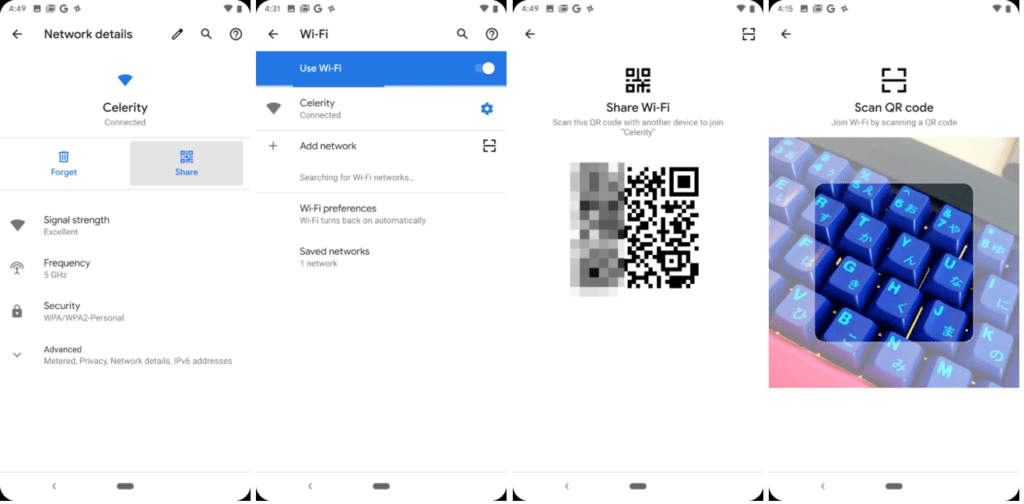 Android Q Wi-Fi