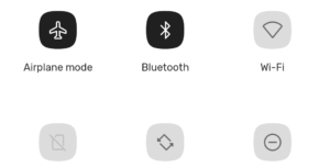 Android 11 Airplane Mode Bluetooth