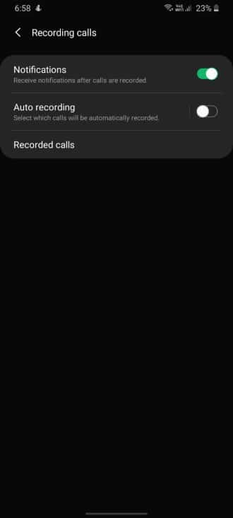 Automatically Record Voice Call On Samsung Galaxy S20 Plus Ultra - Step 04