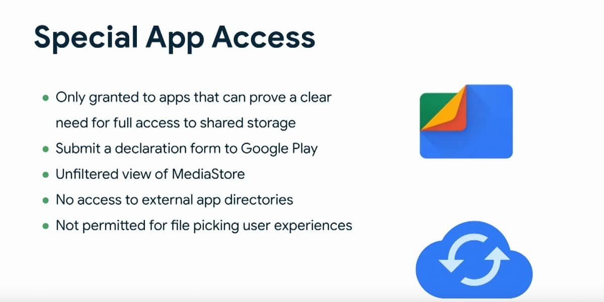 Android 11 Special App Access File System