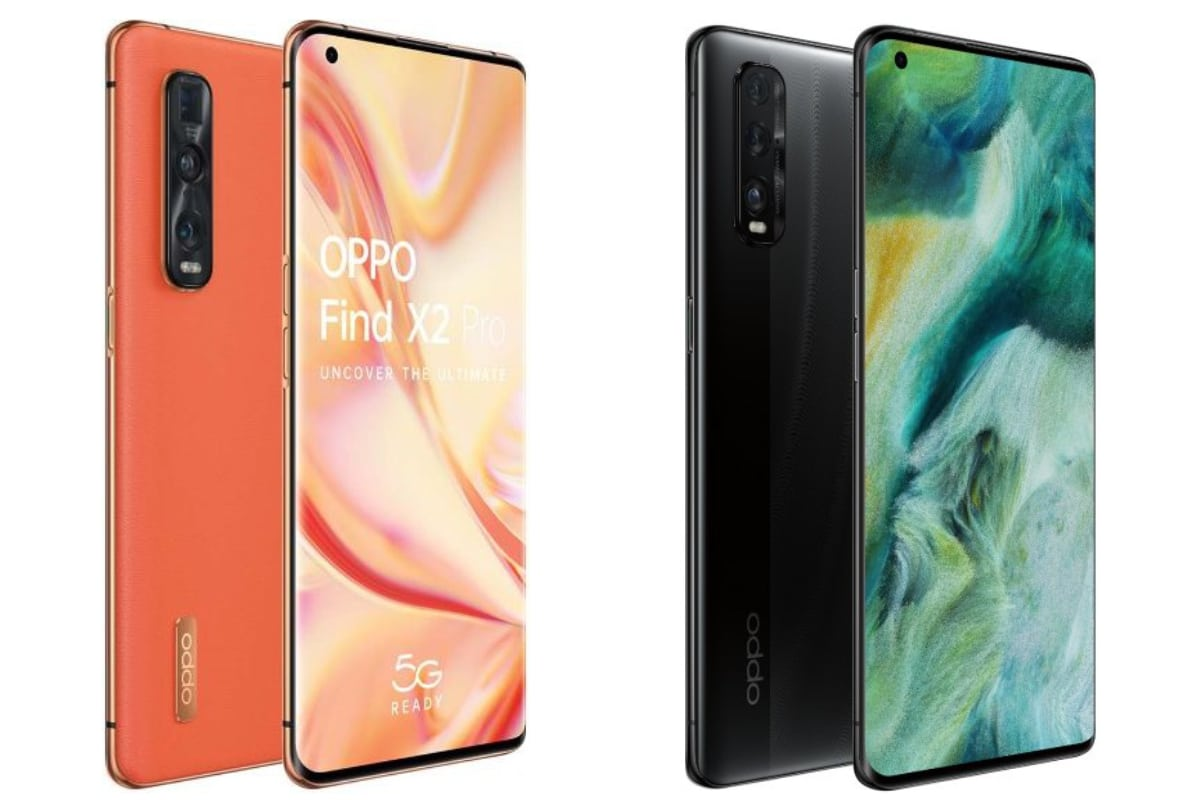 Oppo Find X2 and Oppo Find X2 Pro