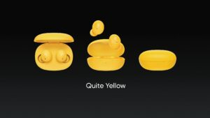Realme Buds Q Quite Yellow