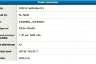 Samsung Galaxy M31 Visits Certification with 6,000mAh Battery