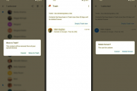 Google Contacts for Android Now Gets a Trash Feature