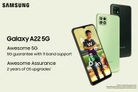 Samsung Galaxy A22 5G Launched with Larger 6.6-inch Display, Dimensity 700 Chipset