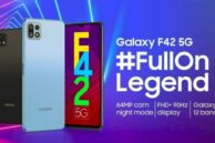 Samsung Galaxy F42 5G Launched with Dimensity Chipset and 64MP Camera